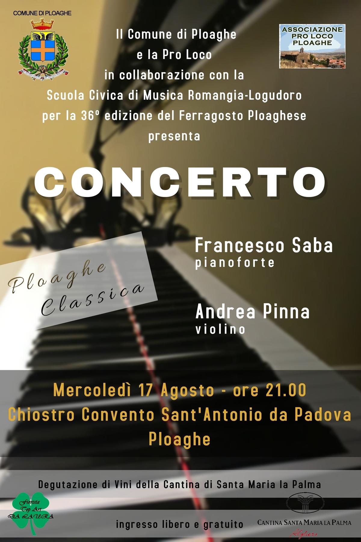 Concerto Ploaghe Classica