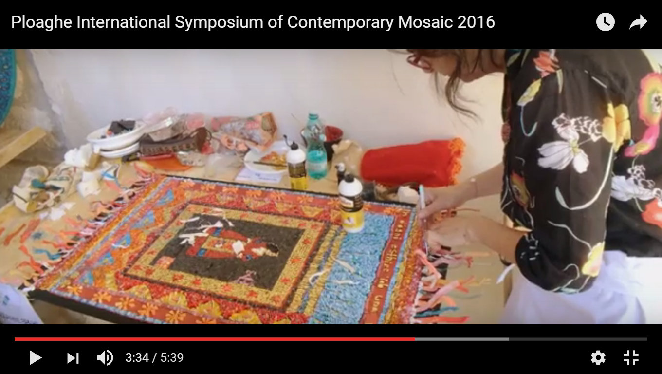 Ploaghe International Symposium of Contemporary Mosaic 2016