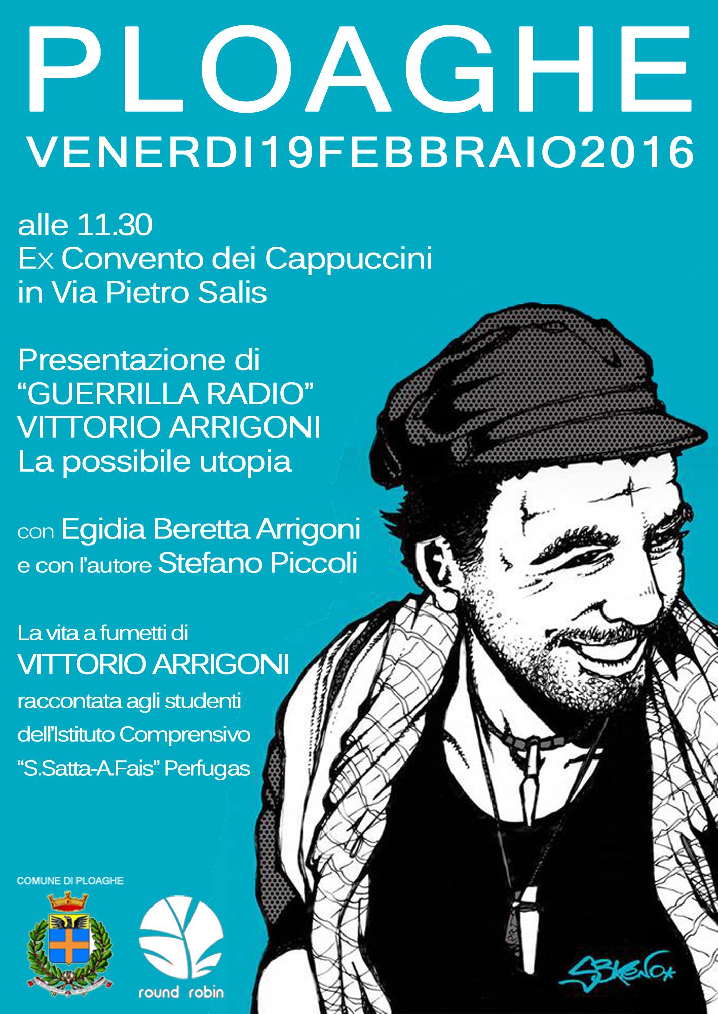 locandina presentazione Guerrilla Radio